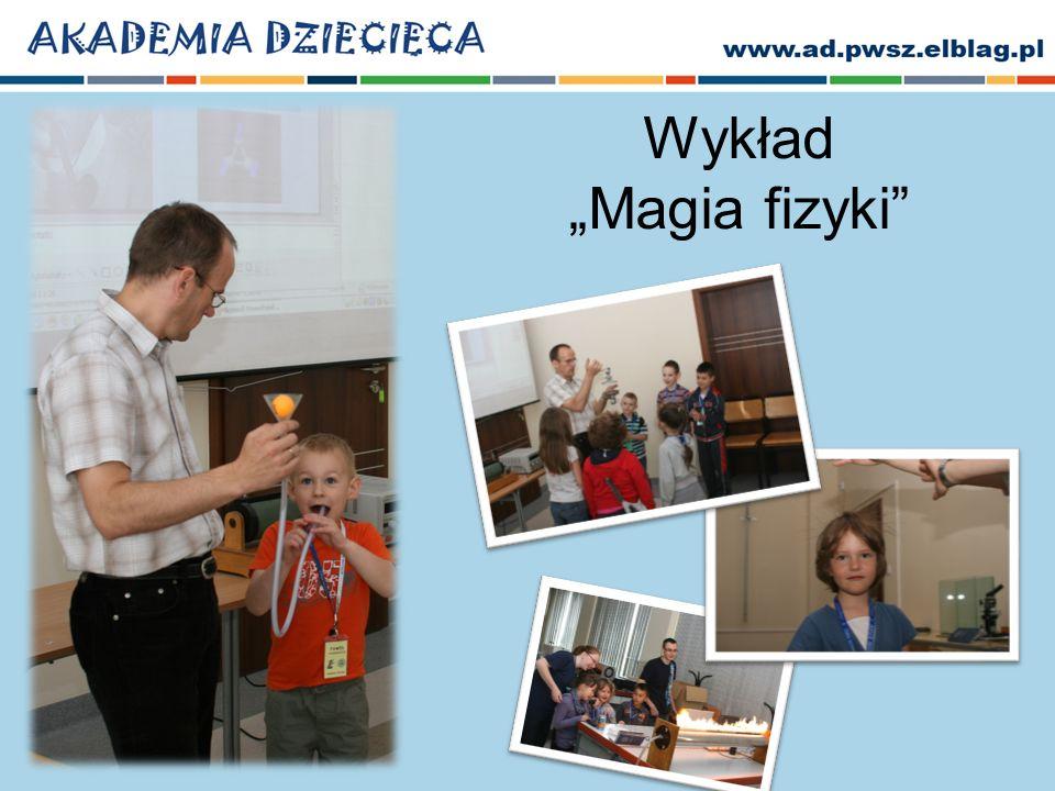 Wykład Magia fizyki