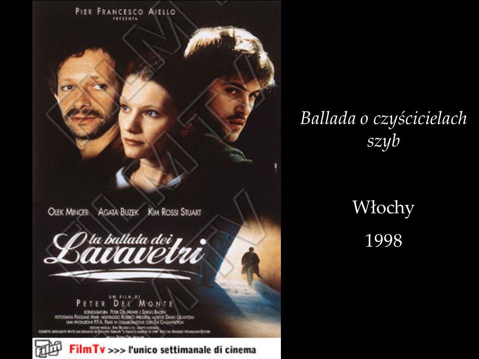 Ballada o czyścicielach szyb Włochy 1998