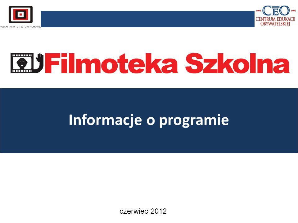 Informacje o programie czerwiec 2012