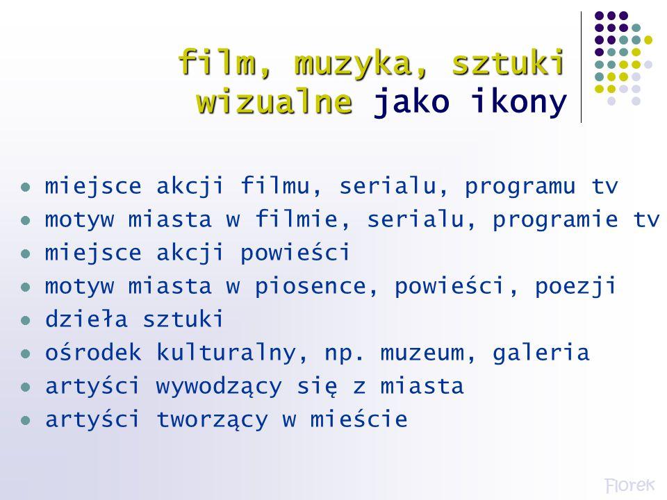 film, muzyka, sztuki wizualne film, muzyka, sztuki wizualne jako ikony miejsce akcji filmu, serialu, programu tv motyw miasta w filmie, serialu, progr
