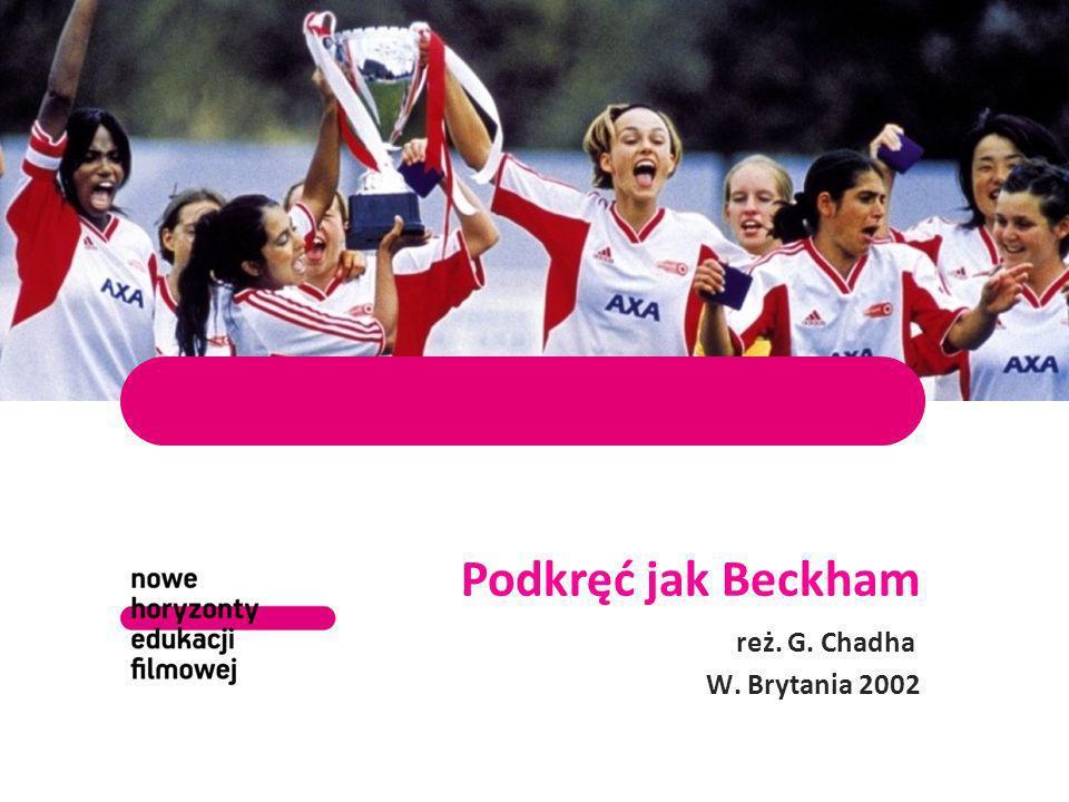 Podkręć jak Beckham reż. G. Chadha W. Brytania 2002