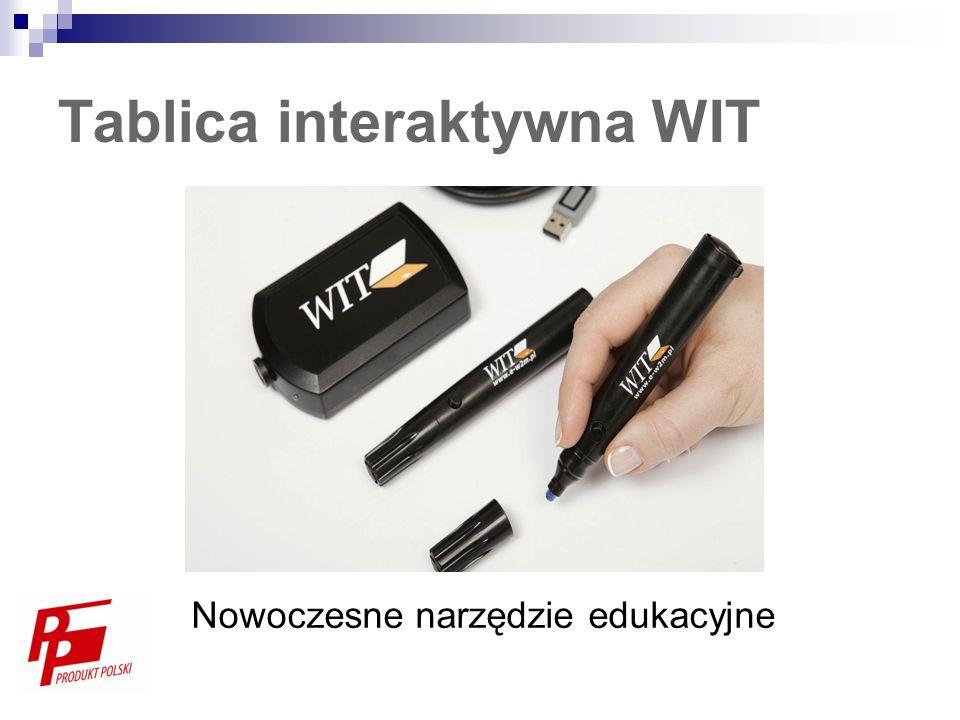 Tablica interaktywna WIT Nowoczesne narzędzie edukacyjne