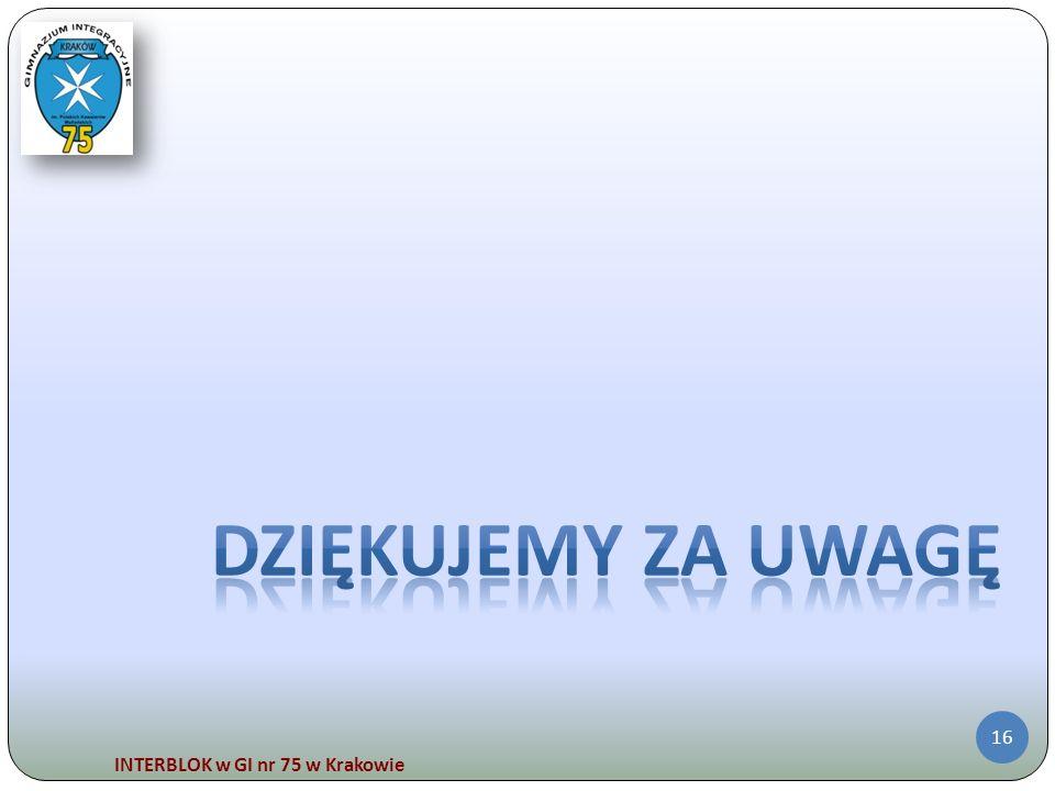 INTERBLOK w GI nr 75 w Krakowie 16