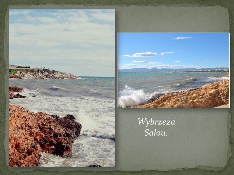 Wybrzeża Salou.
