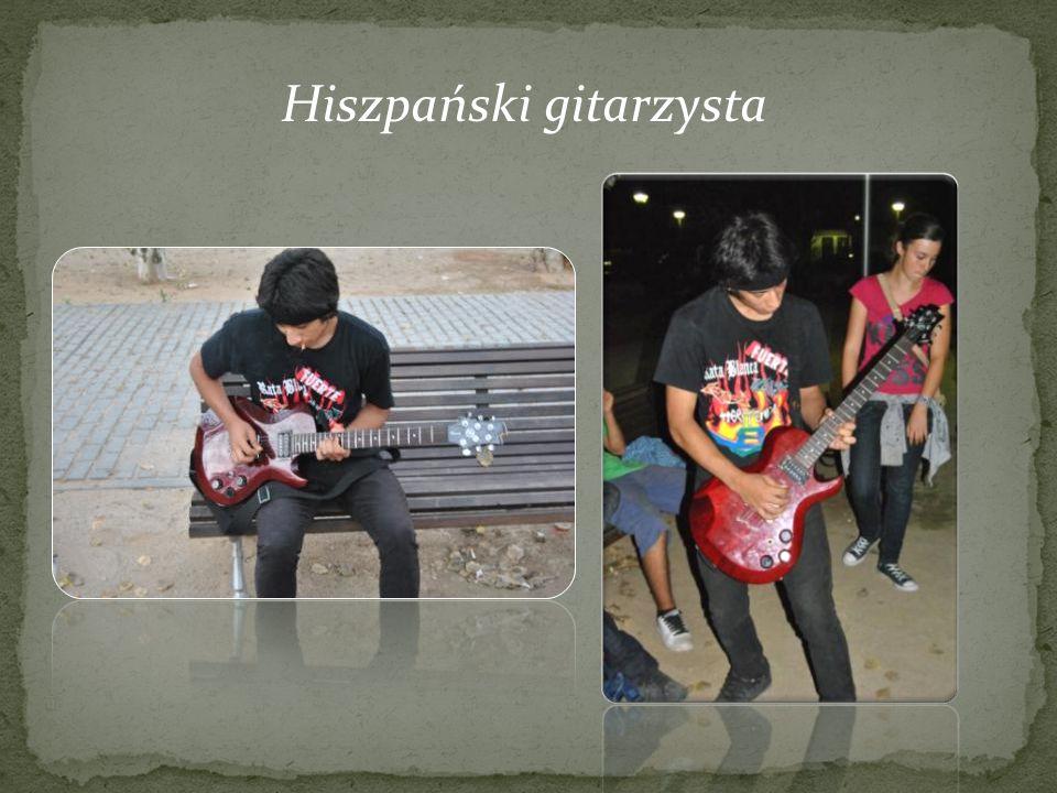 Hiszpański gitarzysta