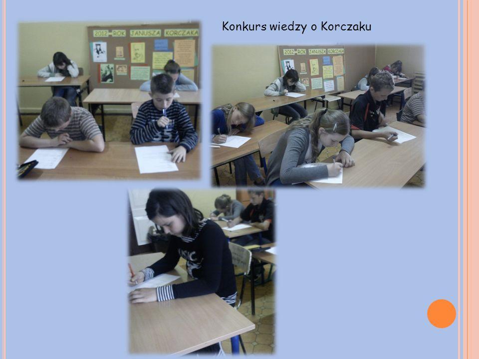 Konkurs wiedzy o Korczaku