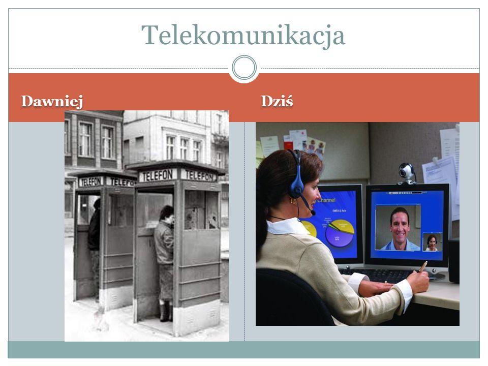 Dawniej Dziś Telekomunikacja
