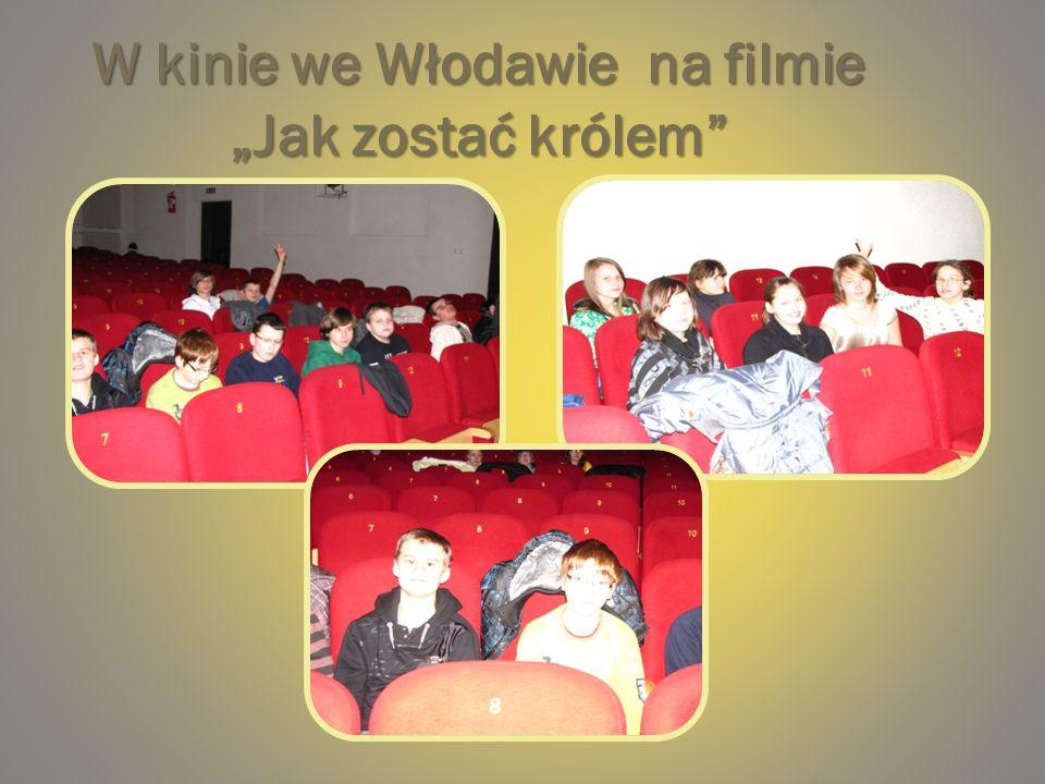 W kinie we Włodawie na filmie Jak zostać królem