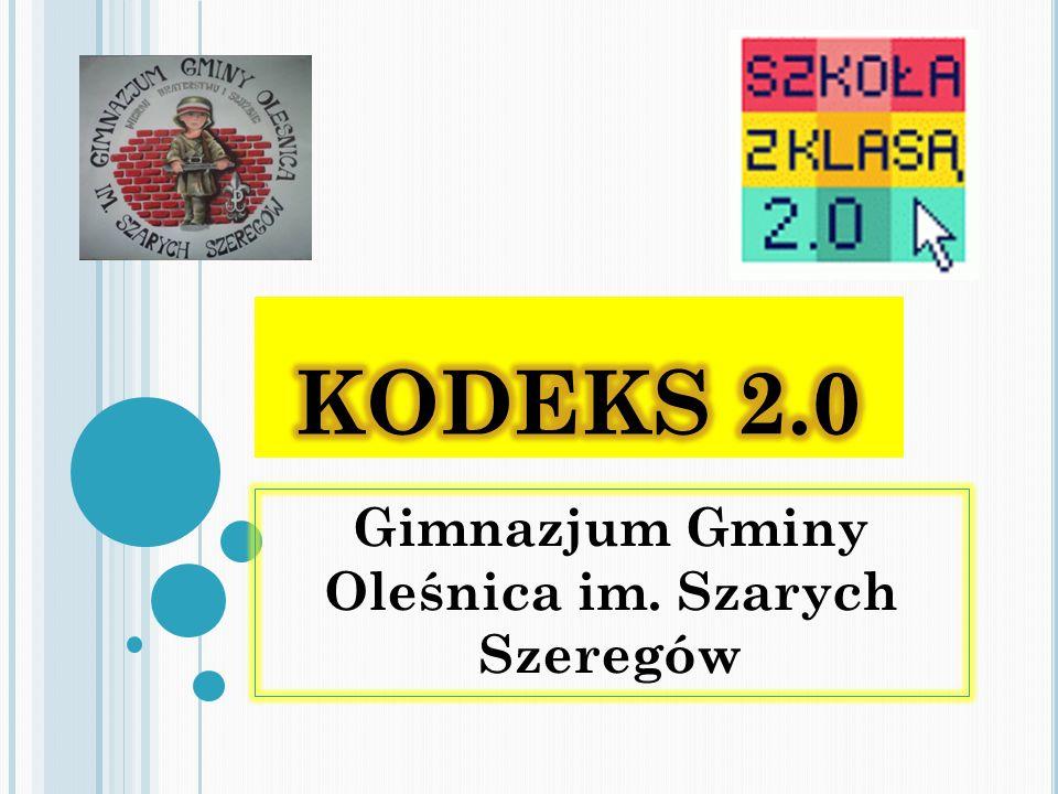 Gimnazjum Gminy Oleśnica im. Szarych Szeregów