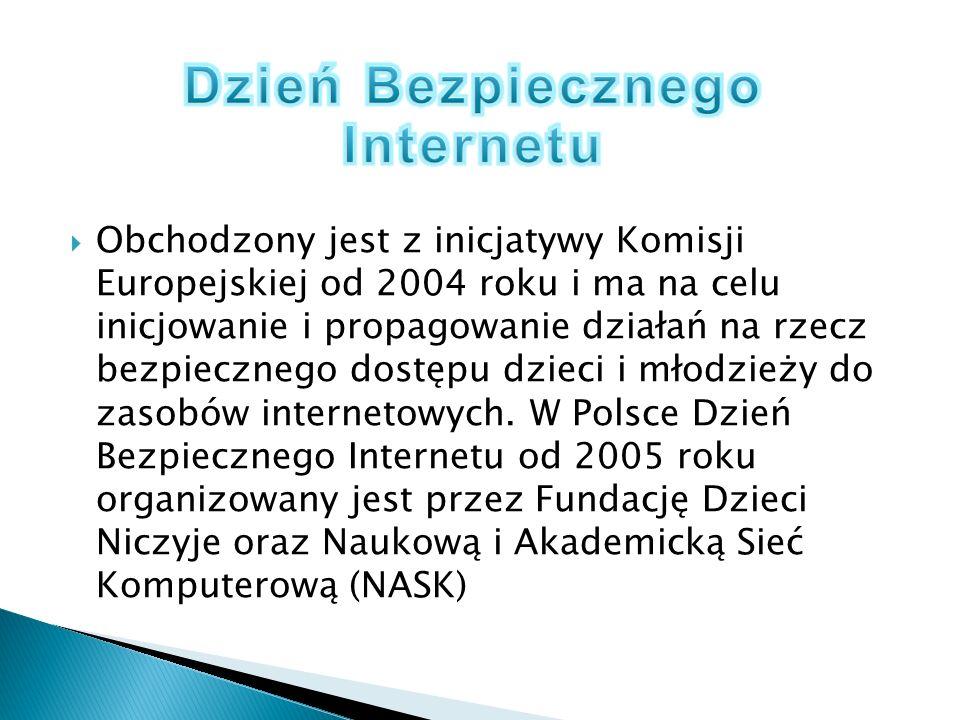 Podczas tegorocznych obchodów DBI zwracamy uwagę na to, że każdy internauta ma prawo wykorzystywać potencjał sieci do samorealizacji, zdobywania informacji, nauki czy zabawy - ponosi jednak odpowiedzialność za swoje działania w Internecie.