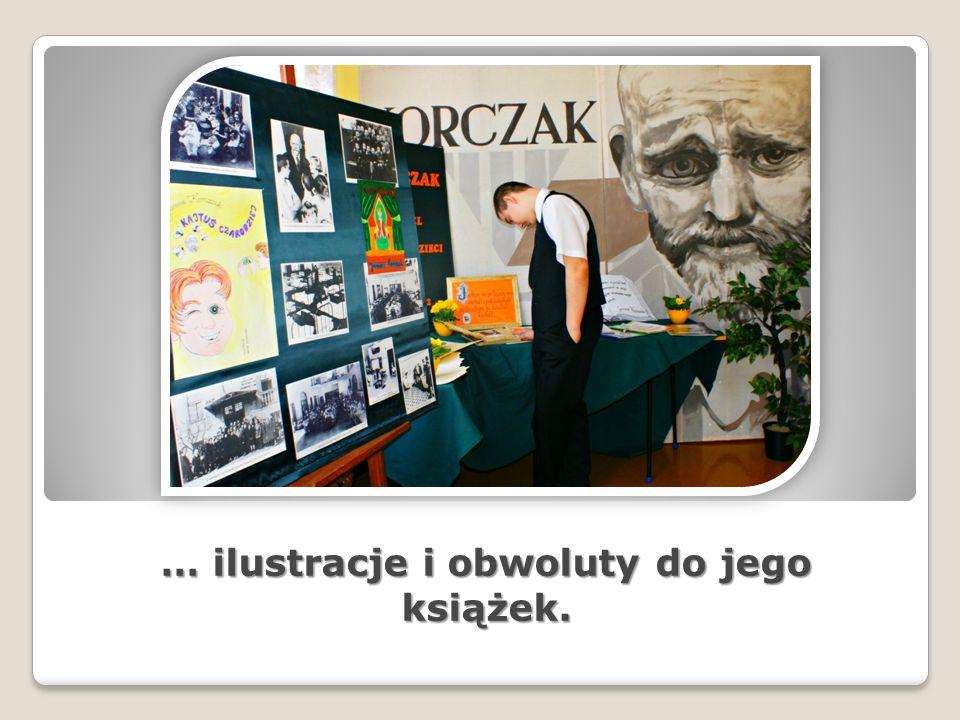 … ilustracje i obwoluty do jego książek.