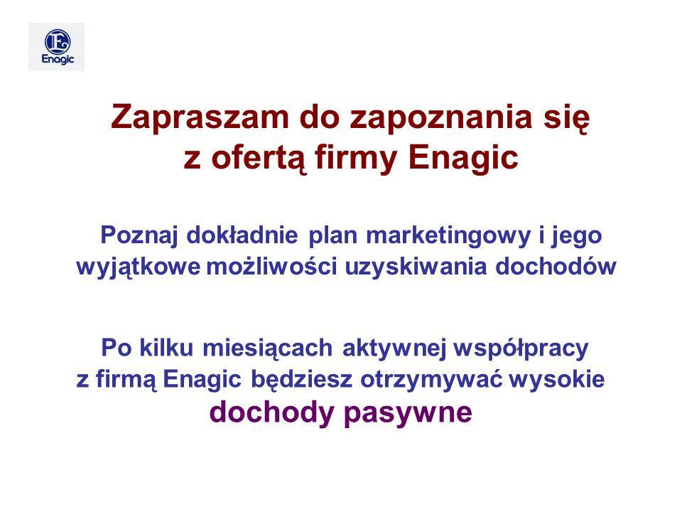 Poznaj dokładnie plan marketingowy i jego wyjątkowe możliwości uzyskiwania dochodów Zapraszam do zapoznania się z ofertą firmy Enagic Po kilku miesiąc