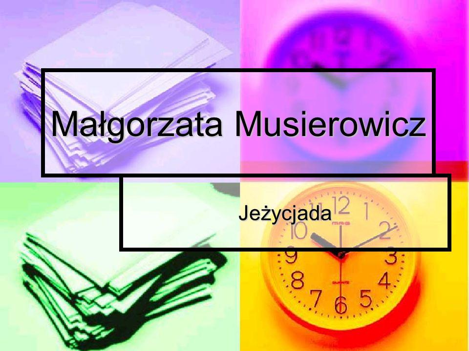 Małgorzata Musierowicz Jeżycjada