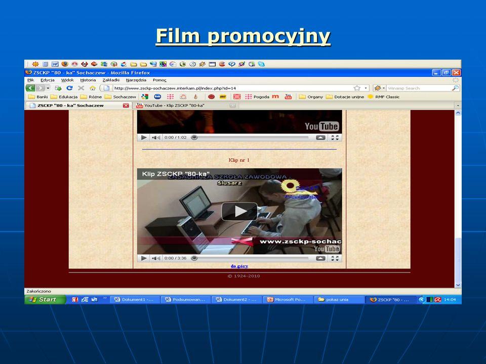 Film promocyjny Film promocyjny