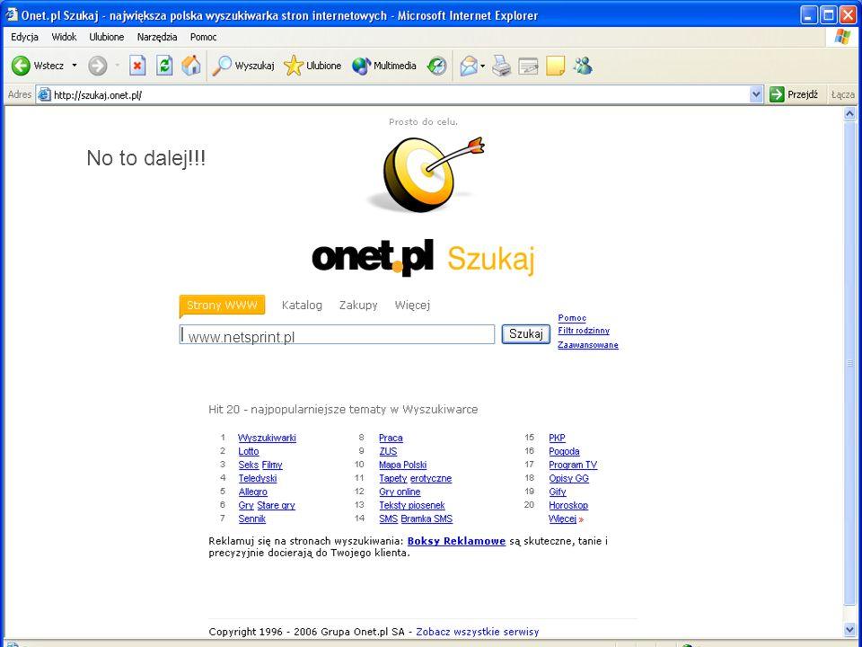www.netsprint.pl No to dalej!!!