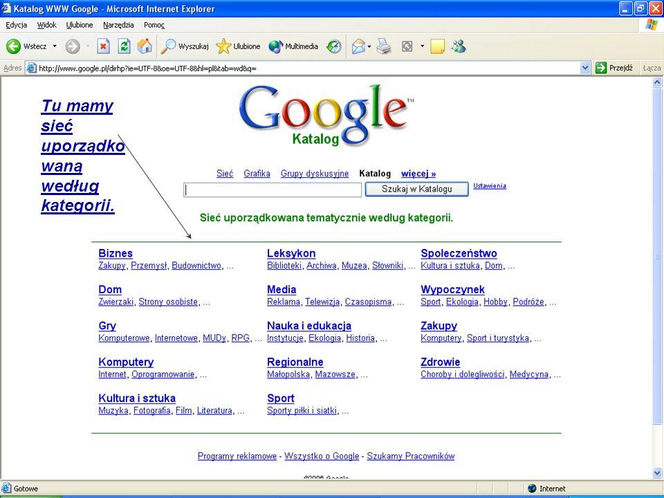 Usługi google i narzędzia