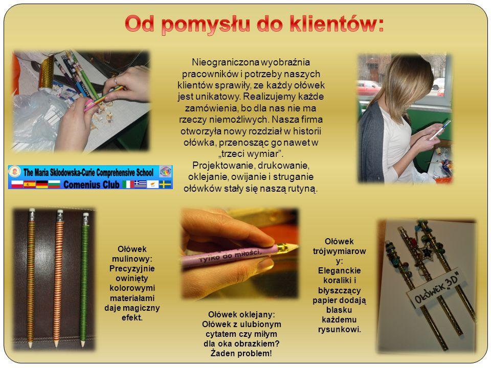 Ołówek mulinowy: Precyzyjnie owinięty kolorowymi materiałami daje magiczny efekt.