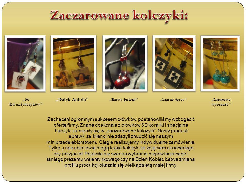 ,,Czarne Serca ,,Dotyk Anioła,,Barwy jesieni,,Lazurowe wybrze ż e Zachęceni ogromnym sukcesem ołówków, postanowiliśmy wzbogacić ofertę firmy.