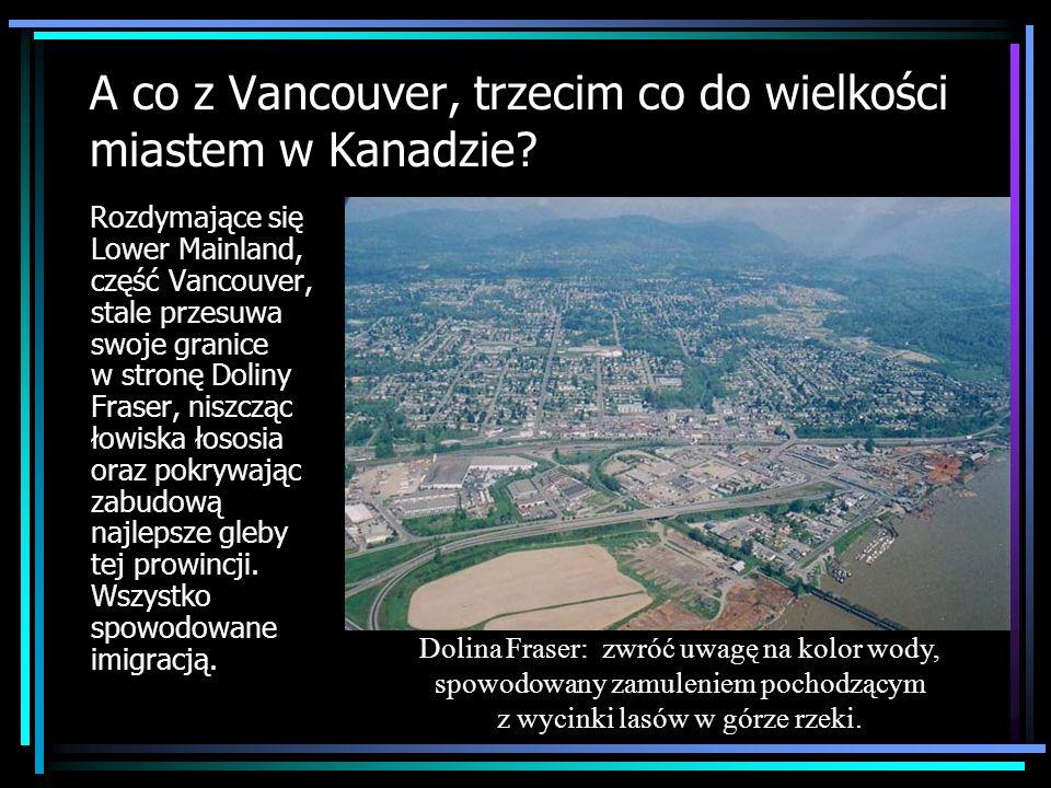 A co z Vancouver, trzecim co do wielkości miastem w Kanadzie? Rozdymające się Lower Mainland, część Vancouver, stale przesuwa swoje granice w stronę D