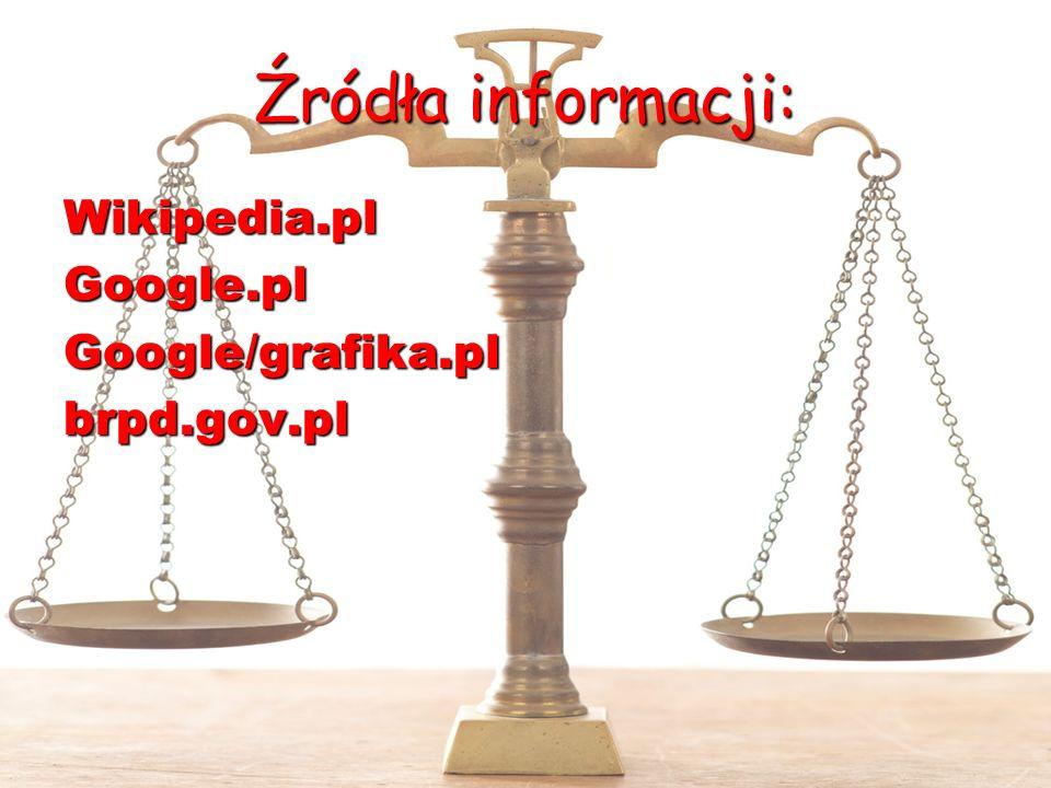 Źródła informacji: Wikipedia.plGoogle.plGoogle/grafika.plbrpd.gov.pl