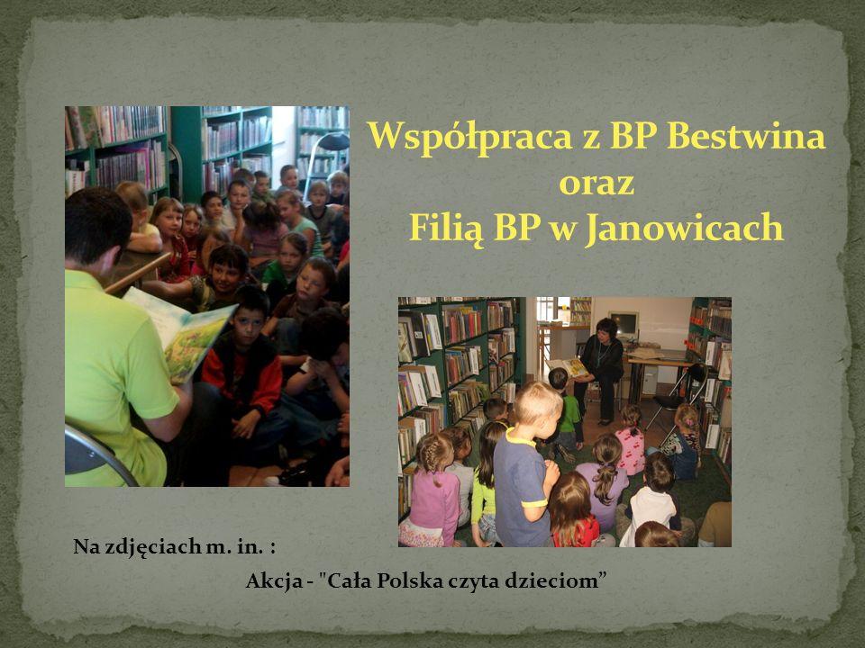 Na zdjęciach m. in. : Akcja - Cała Polska czyta dzieciom