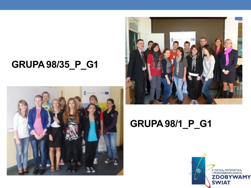 GRUPA 98/1_P_G1 GRUPA 98/35_P_G1