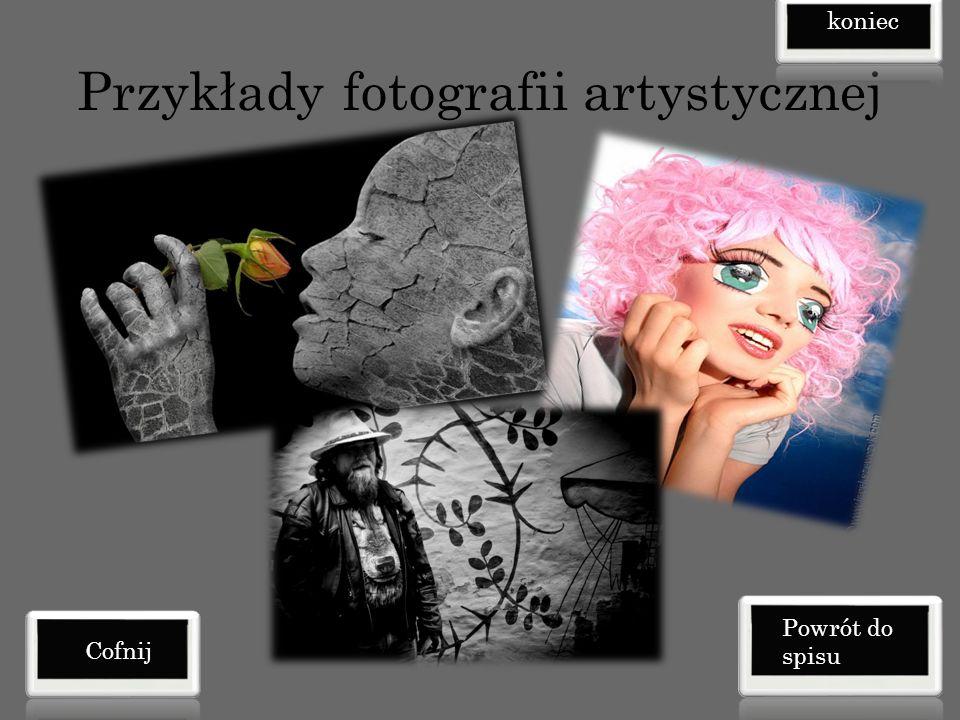Przykłady fotografii artystycznej Cofnij koniec Powrót do spisu
