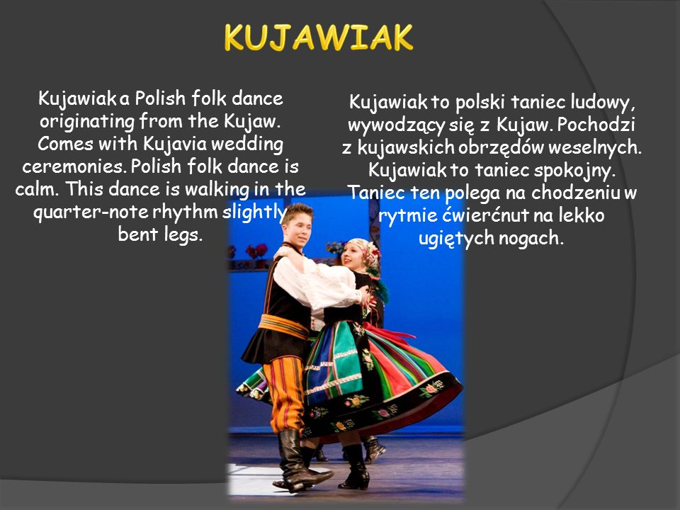 Oberek a Polish folk dance is a dance with a lively pace and lively melodies.