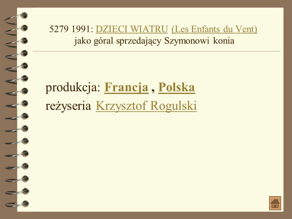 1990: MÓW MI ROCKEFELLERMÓW MI ROCKEFELLER produkcja: Polska gatunek: Komedia, Dla młodzieżyPolska Komedia, Dla młodzieży data premiery: 1990-05-14 (P
