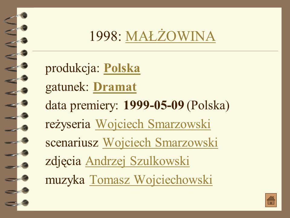 1996: GRY ULICZNE jako Kuna, były pracownik SBGRY ULICZNE produkcja: Polska gatunek: Dramat, Sensacyjny, PolitycznyPolska Dramat, Sensacyjny, Politycz