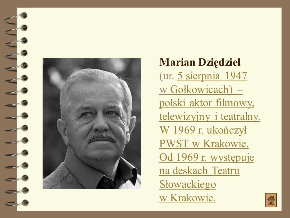Marian Dziędziel (ur.