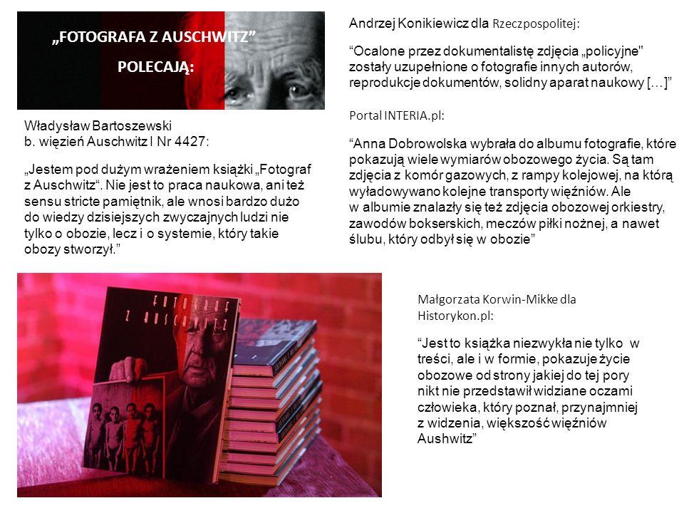 Małgorzata Korwin-Mikke dla Historykon.pl: Jest to książka niezwykła nie tylko w treści, ale i w formie, pokazuje życie obozowe od strony jakiej do te