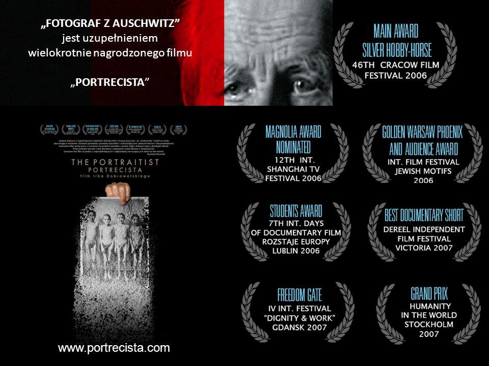 FOTOGRAF Z AUSCHWITZ jest uzupełnieniem wielokrotnie nagrodzonego filmu PORTRECISTA www.portrecista.com
