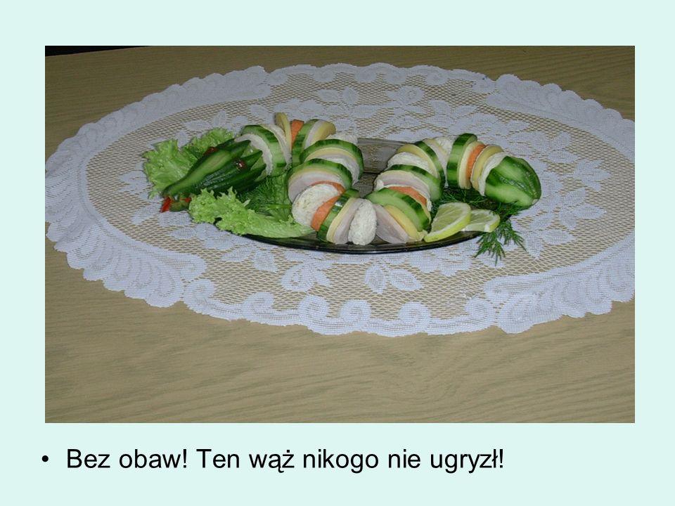 Poniżej prezentowane są zdjęcia przygotowanych potraw. Ich oglądanie jest dozwolone tylko i wyłącznie dla osób najedzonych. W innym przypadku oglądani