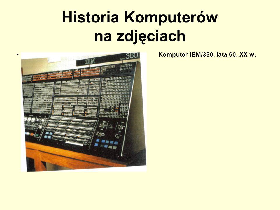 Historia Komputerów na zdjęciach Oryginalny komputer IBM PC z pocz.