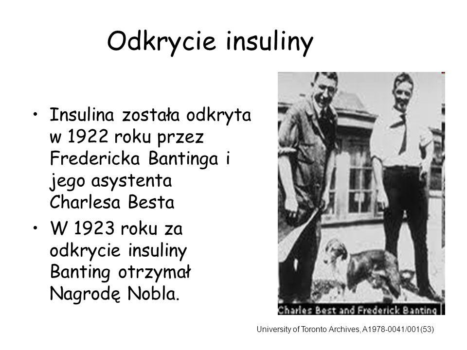 14-letni Leonard Thompson, któremu pierwszemu podano insulinę w roku 1922.