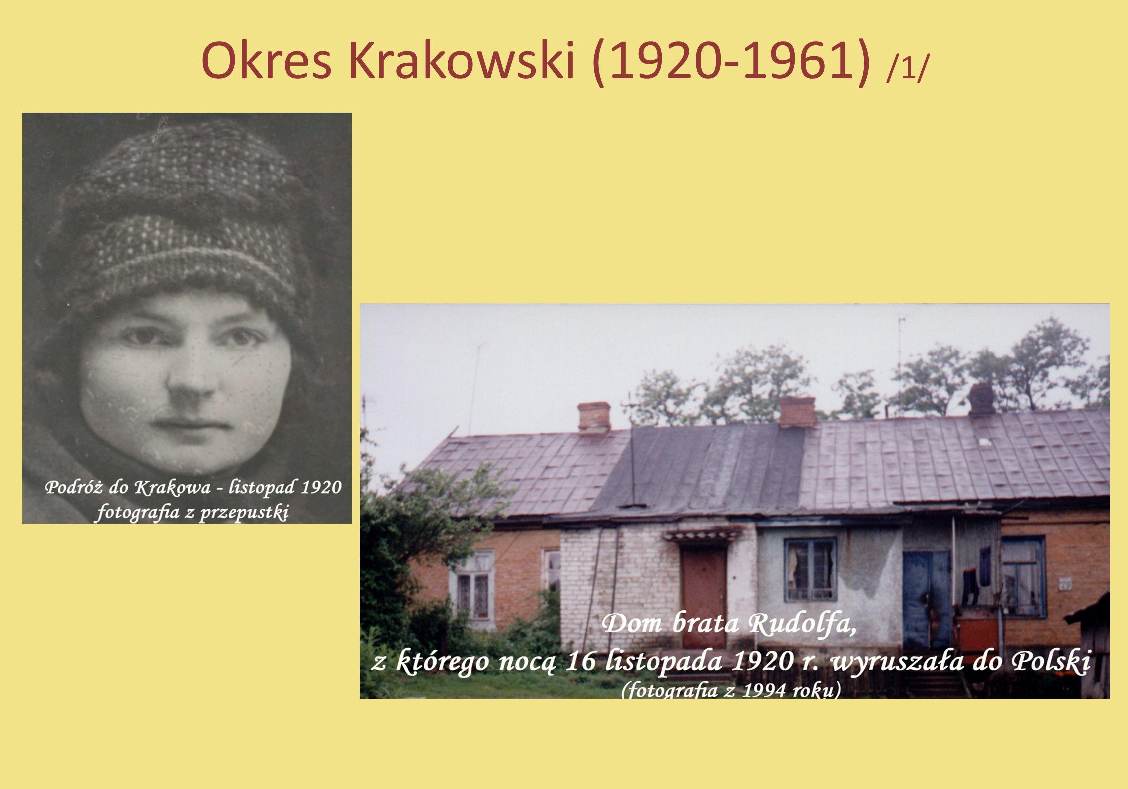 Okres Krakowski (1920-1961) /1/