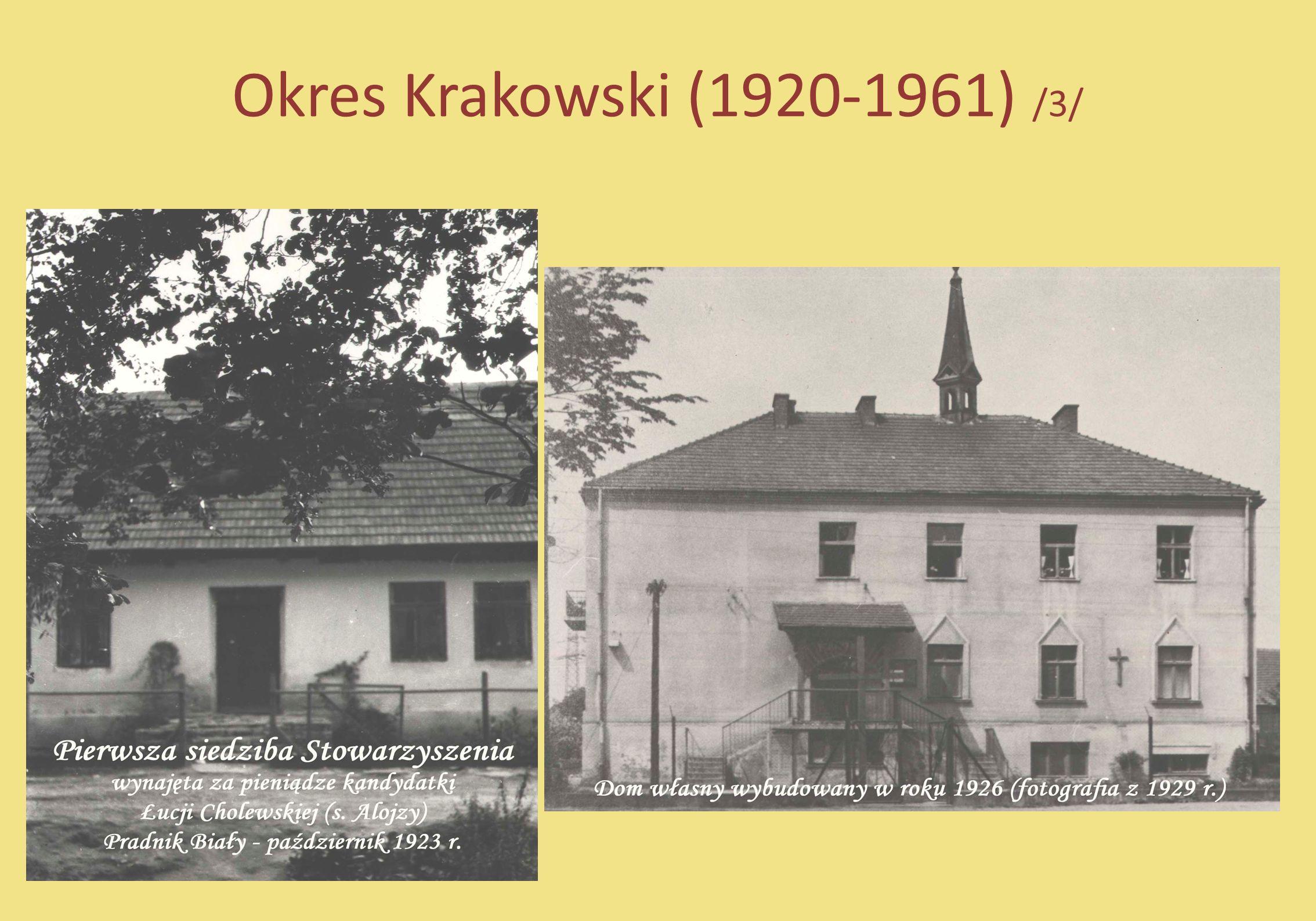 Okres Krakowski (1920-1961) /3/