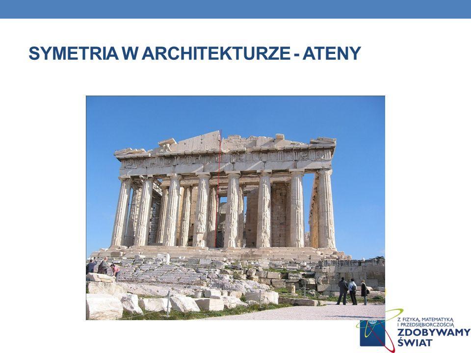 SYMETRIA W ARCHITEKTURZE - ATENY