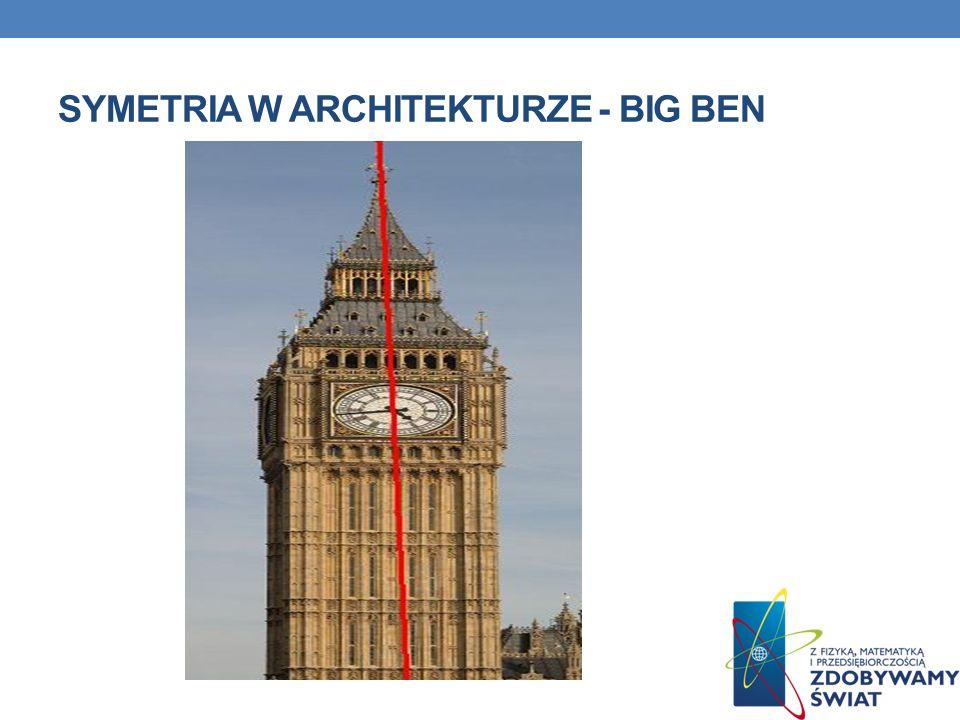 SYMETRIA W ARCHITEKTURZE - BIG BEN