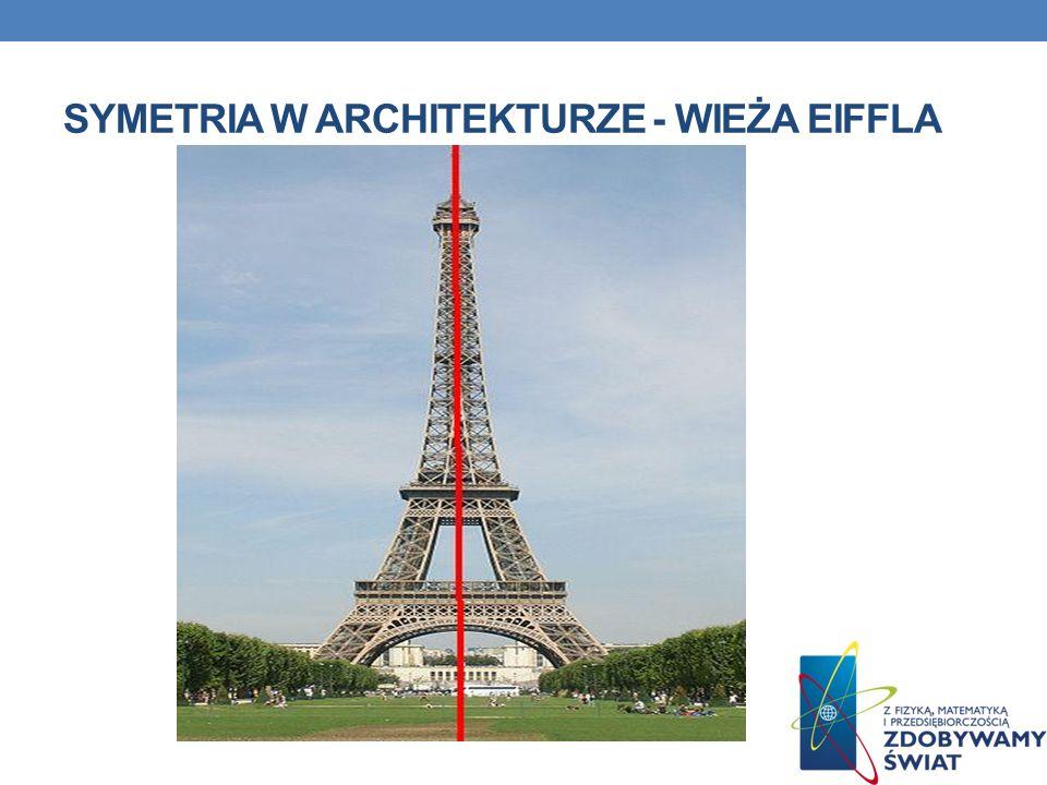 SYMETRIA W ARCHITEKTURZE - WIEŻA EIFFLA