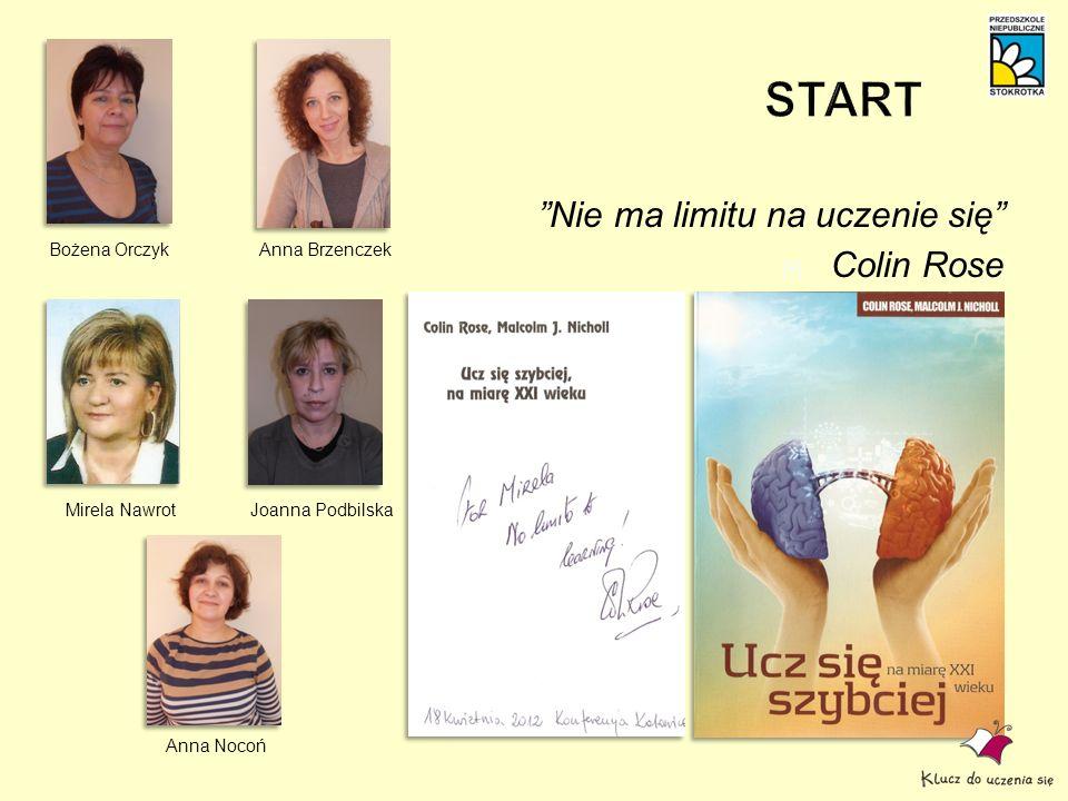 Nie ma limitu na uczenie się Colin Rose Bożena OrczykAnna Brzenczek Mirela Nawrot Anna Nocoń Joanna Podbilska