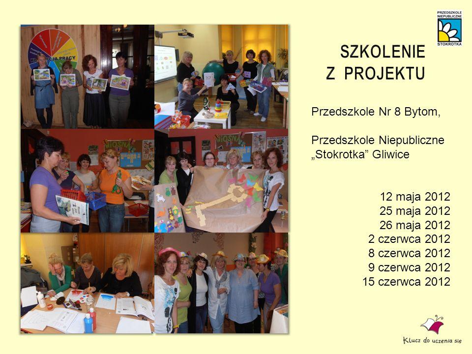 Przedszkole Nr 8 Bytom, Przedszkole Niepubliczne Stokrotka Gliwice 12 maja 2012 25 maja 2012 26 maja 2012 2 czerwca 2012 8 czerwca 2012 9 czerwca 2012