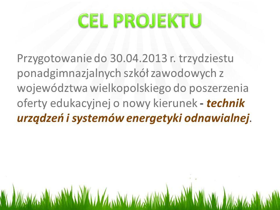Przygotowanie do 30.04.2013 r.
