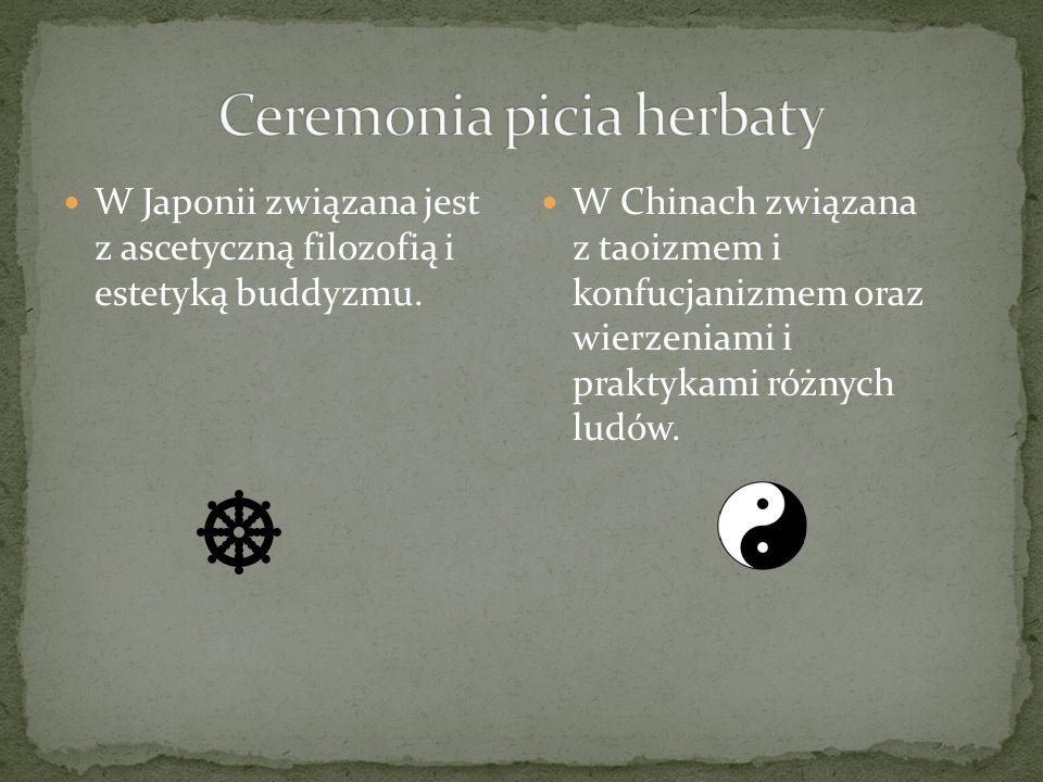 W Japonii związana jest z ascetyczną filozofią i estetyką buddyzmu. W Chinach związana z taoizmem i konfucjanizmem oraz wierzeniami i praktykami różny