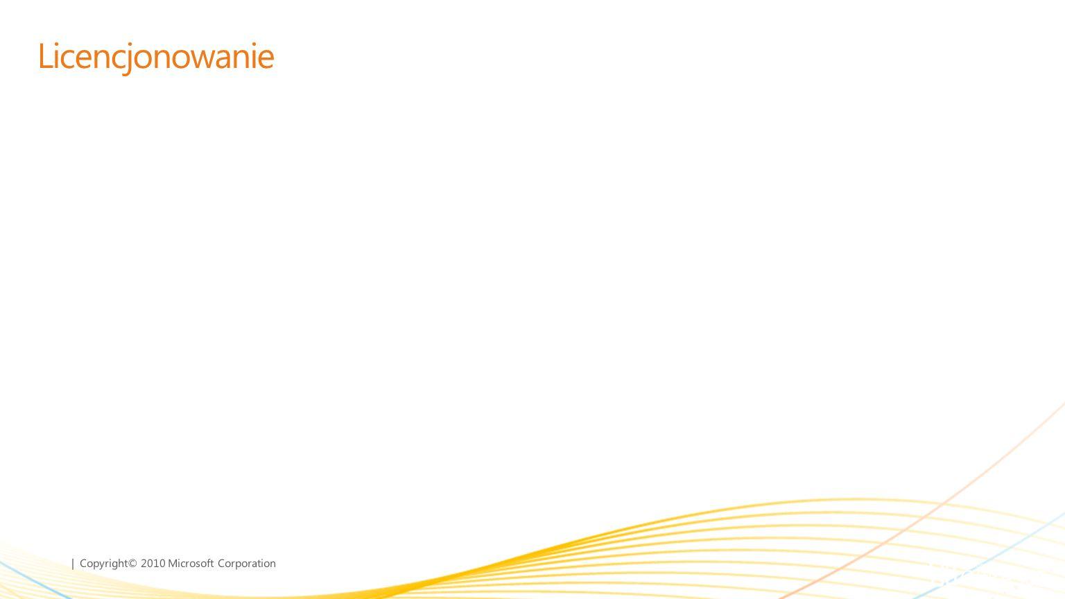 | Copyright© 2010 Microsoft Corporation Nowości w Office 365 6 Nowy interfejs użytkownika Dostęp poprzez role Federacja Nowy interfejs użytkownika Dos