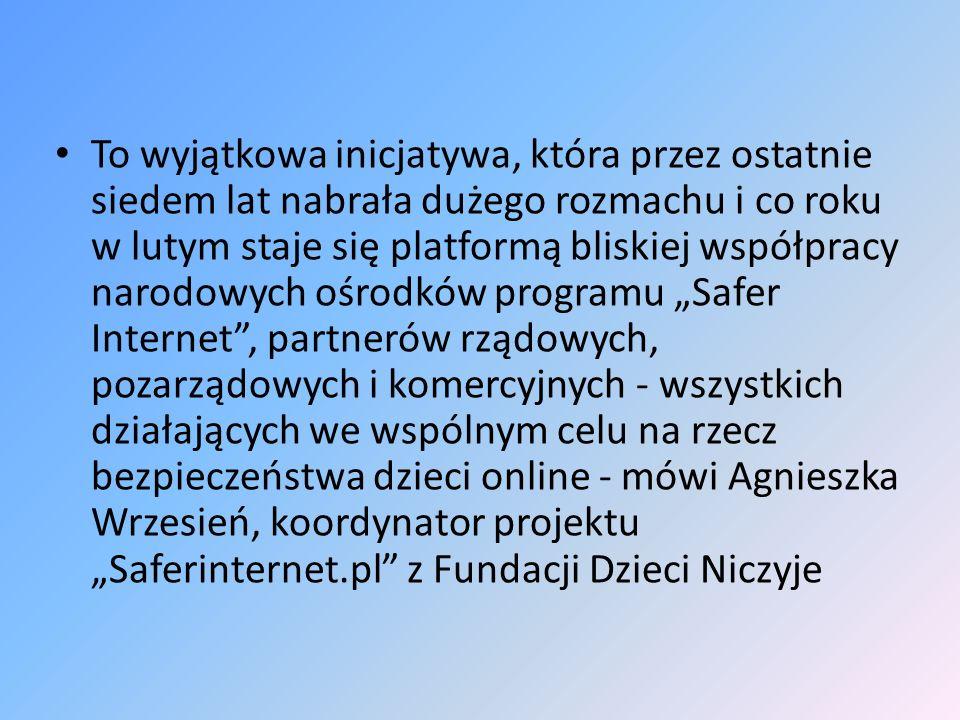 Taka już jest specyfika Internetu, że łączy w sobie kopalnię wiedzy i wielki śmietnik.