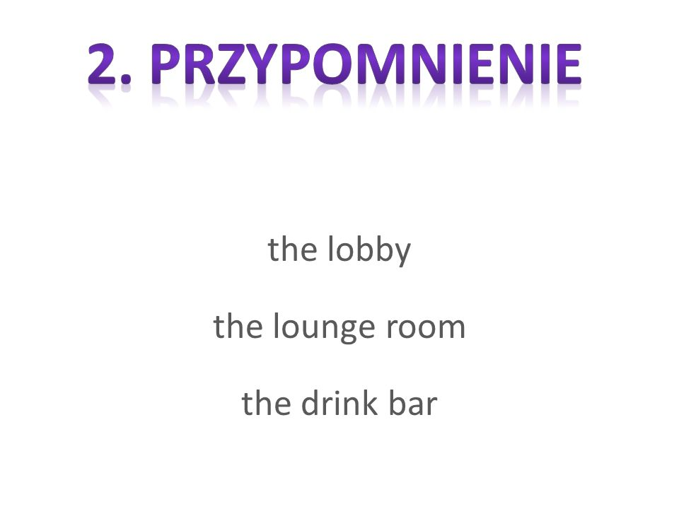 the lobby the lounge room the drink bar