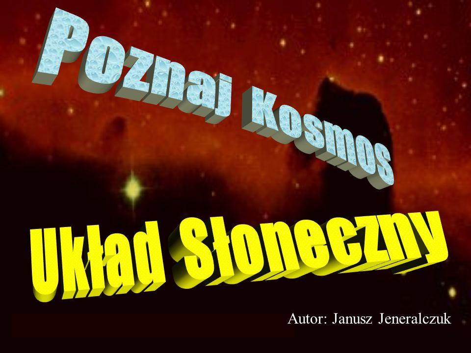 Następny slajdPoprzedni slajdKoniecPoczątek Polarna zorza na Jowiszu Czynny wulkan na Io -księżycu Jowisza Atmosfera Jowisza