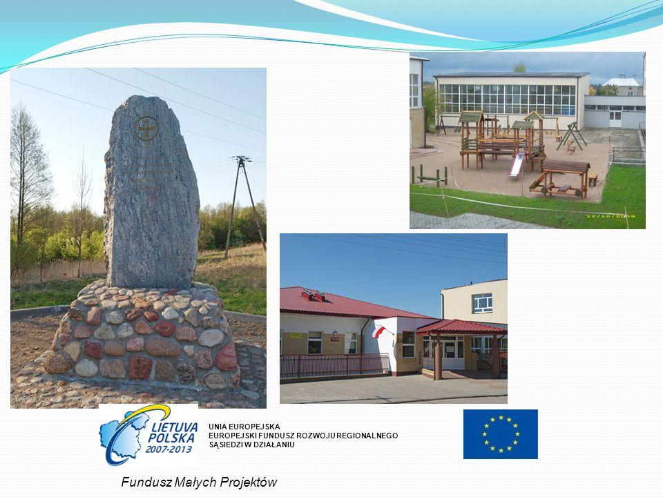 UNIA EUROPEJSKA EUROPEJSKI FUNDUSZ ROZWOJU REGIONALNEGO SĄSIEDZI W DZIAŁANIU Fundusz Małych Projektów